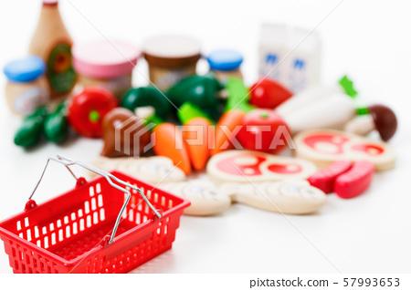 超市購物蔬菜新鮮食品雜貨 57993653