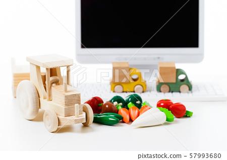 超市購物蔬菜新鮮食品雜貨 57993680