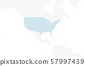 dotted north america map large size type2 57997439
