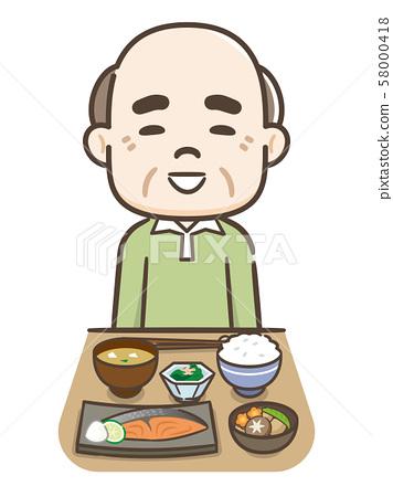 吃飯的老人 58000418