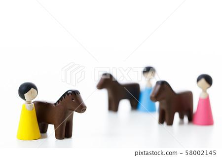 騎馬馬動物 58002145