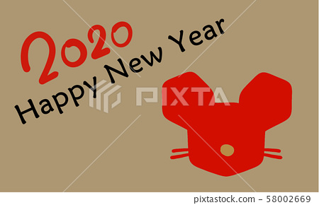 2020 New Year card 58002669