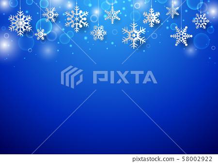 聖誕雪花背景1 58002922