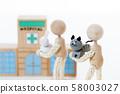 애완 동물 병원 58003027