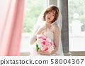 여성 신부 58004367