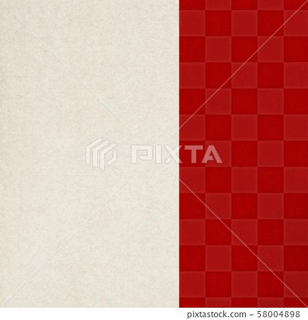 背景,日式,日式,日式,日本纸红格仔图案 58004898