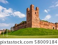 The walls of Castelfranco Veneto 58009184
