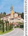 Church in Arqua Petrarca 58009195