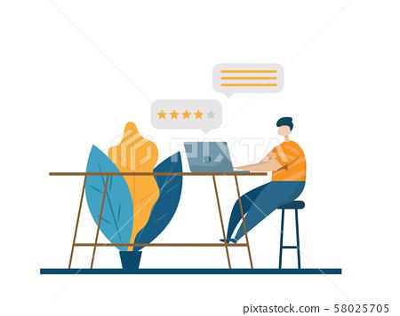 online customer review, feedback 58025705