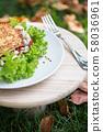 healthy nutrition in the fresh air 58036961