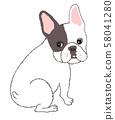 French bulldog 58041280