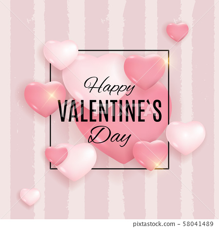 Valentine's Day Love and Feelings Background 58041489