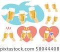 맥주 건배 세트 58044408