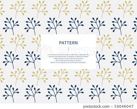 나뭇가지 패턴 백그라운드 58046047