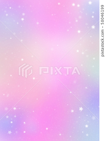 분홍색 배경과 별 58046199