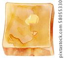 Toast butter 58055330