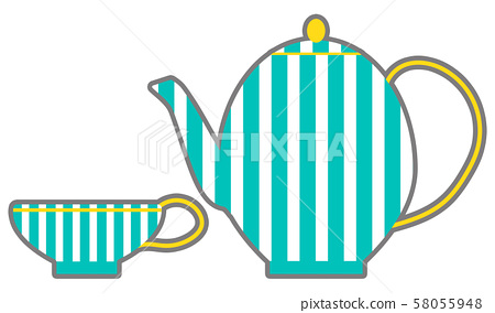 찻잔 컵 패션 58055948