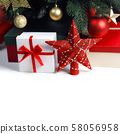 Christmas gifts under the tree 58056958