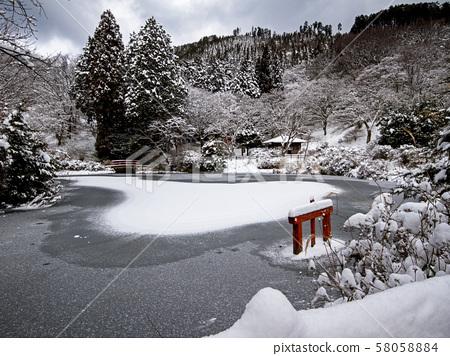 Snowy landscape 58058884