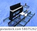 음악 이미지 전자 피아노 58075262