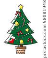 크리스마스 트리 58081948