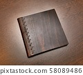 Book on a desk 58089486