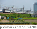 EF652086東京地鐵13000系列在東海道線運輸 58094708