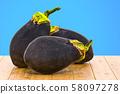 Helios Eggplants 3d rendering 58097278