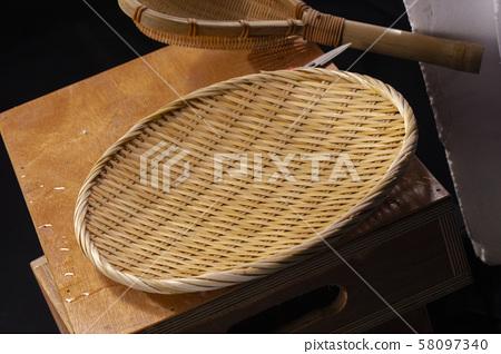 竹筏,炊具,竹製用具,竹製用具,竹筏,炊具,竹製 58097340