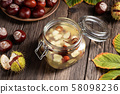 Preparation of tincture from horse chestnuts 58098236