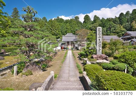 [오이 케 사원] 시가현 고카시 미나 구치 쵸 名坂 58103770