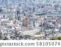 View of the cityscape of Hiroshima from Suzugamine 58105074