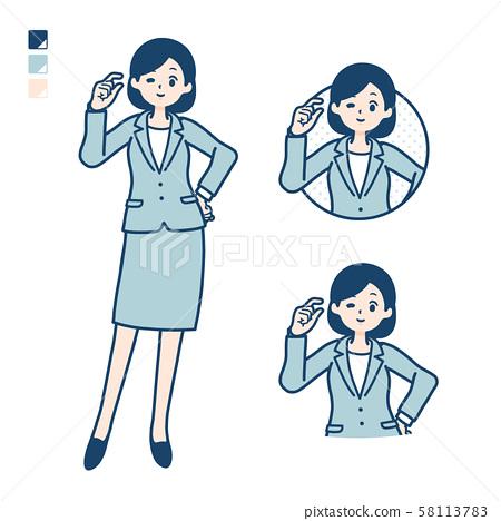 事業女性 商務女性 商界女性 58113783