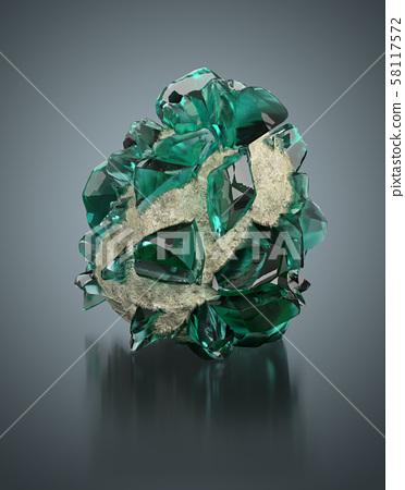 green crystal 58117572