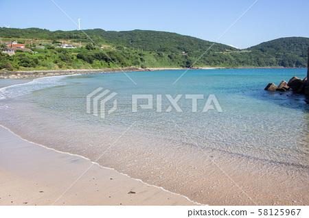 Kagoshima Prefecture Nagashima Landscape Lagoon Beach 58125967