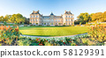 Panorama of Luxembourg Palace in Paris 58129391