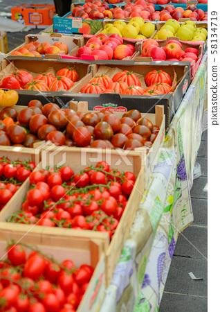 Nice Old Town Market, Market Fruit, Fruit, Summer Fruit, Southern France Branch, Resort Shop, French Street Corner 58134719