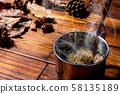 뜨거운 커피 58135189