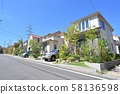 Detached houses 58136598