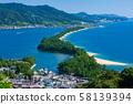 Amanohashidate in Japan 58139394