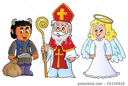 Saint Nicholas Day theme 6 58150926