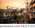 Yanaka Ginza Shopping Street Sunset Sunset 58157153