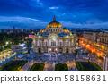 Palacio de Bellas Artes 58158631