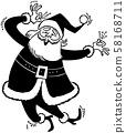 Funny Santa 58168711