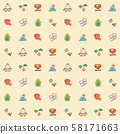 설날 패턴 58171663