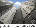 高层公寓楼 58173697