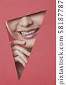 女人紙藝術 58187787