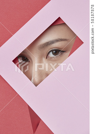 女人紙藝術 58187878