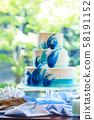 婚禮婚禮蛋糕2 58191152