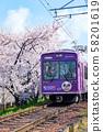 교토 아라시 전 (벚꽃 터널) 58201619